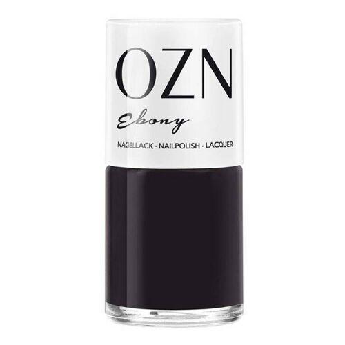 OZN Dunkle Töne, 7-free Nagellack ebony