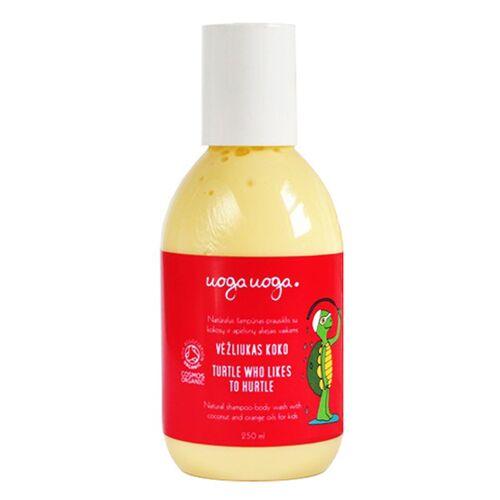 Uoga Uoga Sanftes Waschgel Für Körper & Haare Mit Mandelöl & Sanddorn-extrakt
