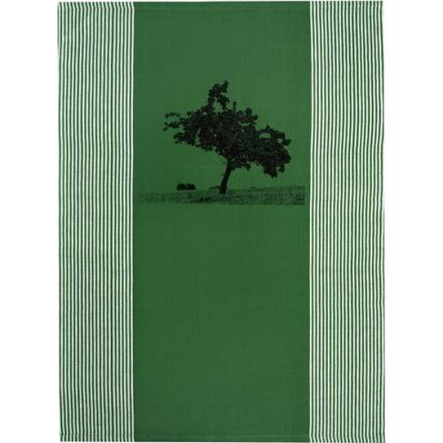 "Hirschkind Bio & Fair-trade-geschirrtuch ""Apfelbaum"" Grün grün"