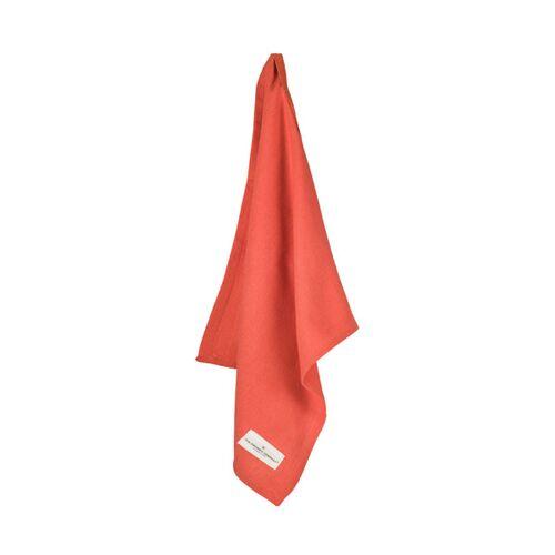 The Organic Company Serviette - Napkin orange (coral) 40x50