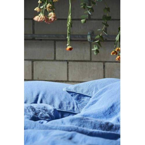 #lavie Kissenbezug Leinen - Linus 40x80 Cm blau