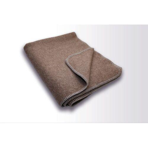 Kaipara - Merino Sportswear Die Halbe Decke - Merino-decke 100 Cm x 155 Cm (800g) schlamm