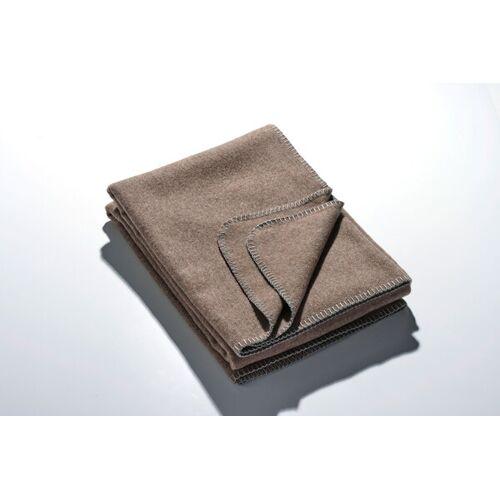 Kaipara - Merino Sportswear Die Leichte Decke - Merino-decke 140 Cm x 190 Cm (950g) schlamm