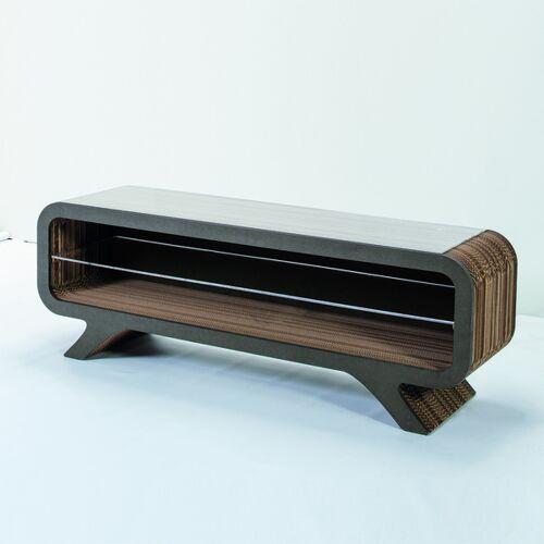 Keller Medien Lowboard Gelpe grau 155 cm breite