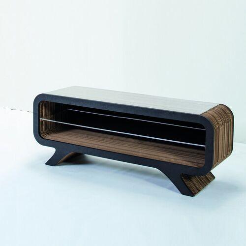 Keller Medien Lowboard Gelpe schwarz 120 cm breite