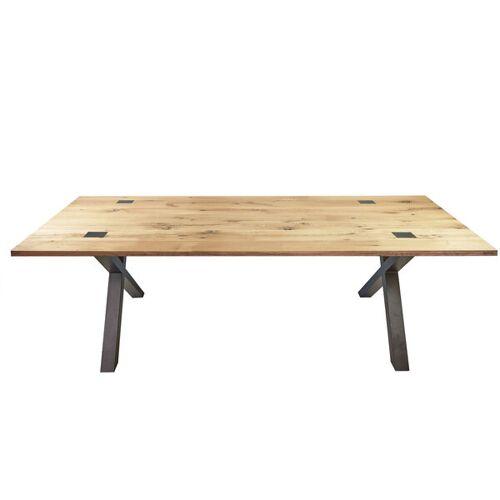 Tolhuijs Design Tisch Able Eichenbalken Upcycling  220x90