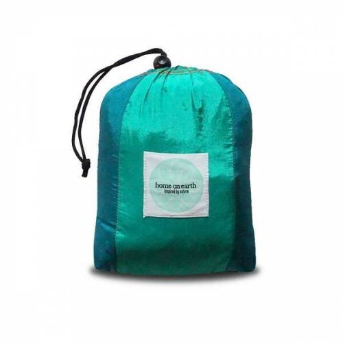 home on earth Hängematte Aus Fallschirmseide emerald/tosca