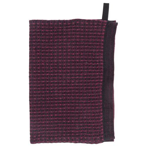 Lapuan Kankurit Maija Geschirrhandtuch schwarz rot 48x70cm