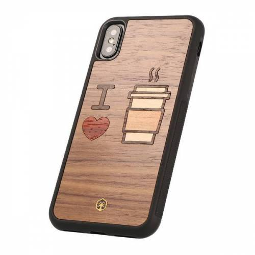 WOODTASTIC I Love Coffee Holz Hülle Case Für Iphone 8/7, Iphone Xs/x, Ipad Mini 4 coffee iphone xs/x