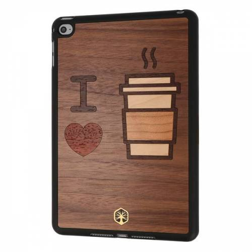 WOODTASTIC I Love Coffee Holz Hülle Case Für Iphone 8/7, Iphone Xs/x, Ipad Mini 4 coffee ipad mini 4