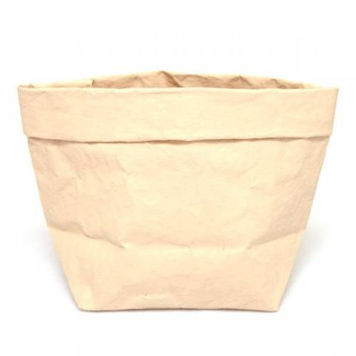 Uashmama Paper Bag L bone