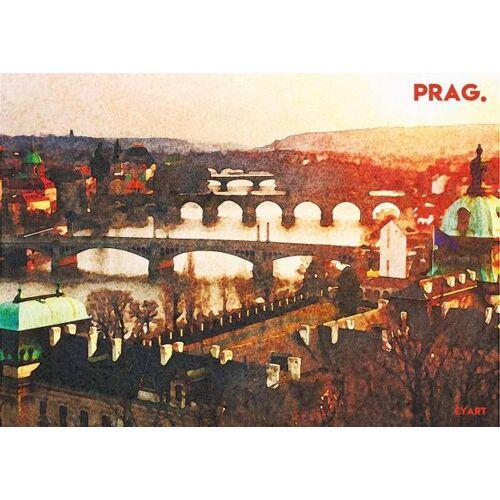 Eykaffee Prag Poster  A3
