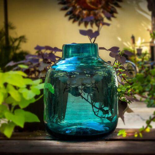 Mitienda Shop Dekovase Aqua   Blumenvase 24cm aqua