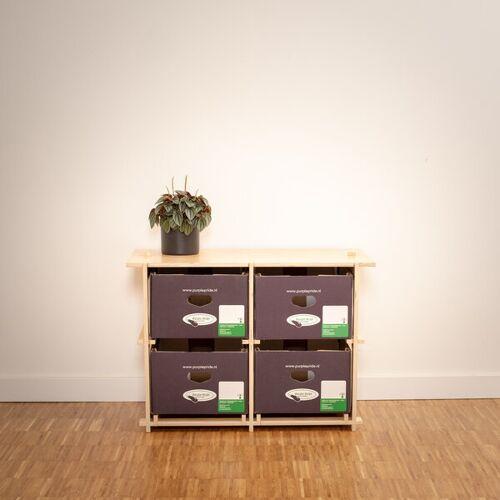 16boxes Twobytwo (2x2) - Beistelltisch