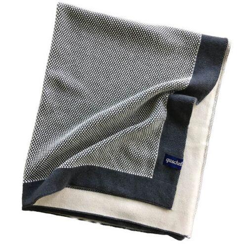 quschel® Kuscheldecke/wohndecke 150x200 Cm Aus 100% Bio-baumwolle