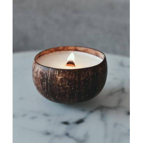 Balu Bowls Kerze Aus 100% Sojawachs Mit Kokosduft