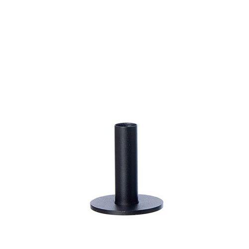 Oohh Taper Kerzenständer schwarz 9 cm
