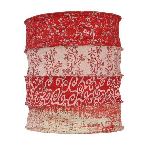 Mitienda Shop Papierlampenschirm Malaga   Lokta Pendelleuchte Rot rot