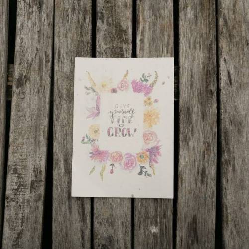 ingegerd Ökolifestyle Postkarte Mit Samen Zum Anpflanzen
