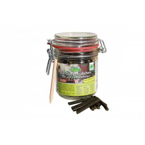 Kleepura Biodüngestäbchen 200 g Im Einmachglas