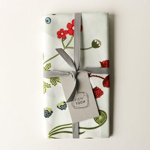 Fien' Tüch Furoshiki Tuch - Verpacken Und Mehr wald (grün) M
