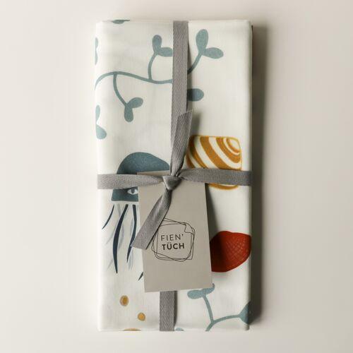 Fien' Tüch Furoshiki Tuch - Verpacken Und Mehr meer (blau) L