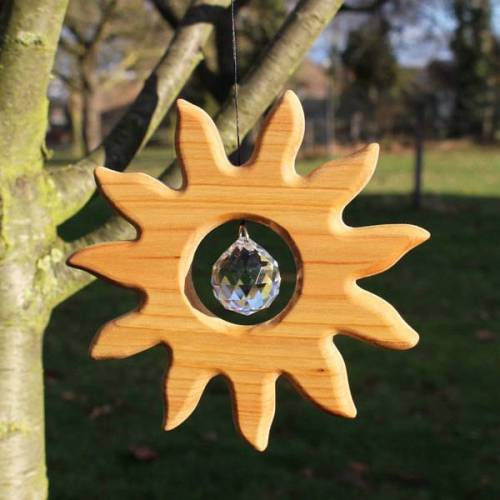 Mitienda Shop Fensterdeko Sonne Mit Kristall sonne groß