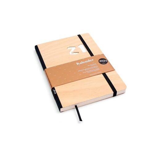 tyyp Kalender 2021 - Klassik, Din A5, Handmade holzfunier