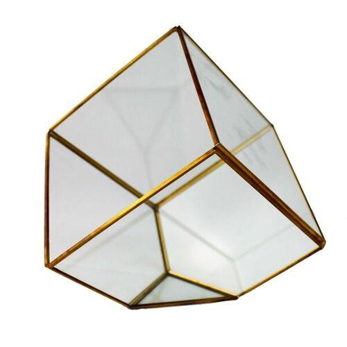 Mitienda Shop Quadratische Gold Terrarium gold