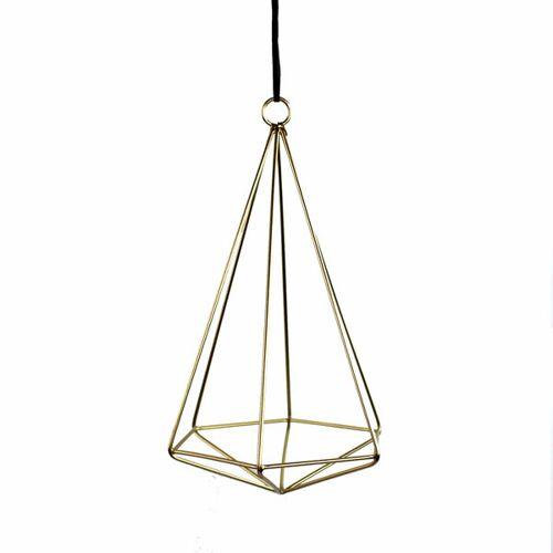 Mitienda Shop Luftpflanzenhalter Geometrisch Gold gold M