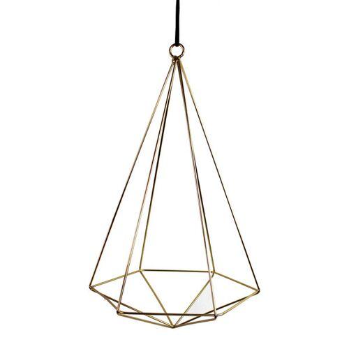 Mitienda Shop Luftpflanzenhalter Geometrisch Gold gold L
