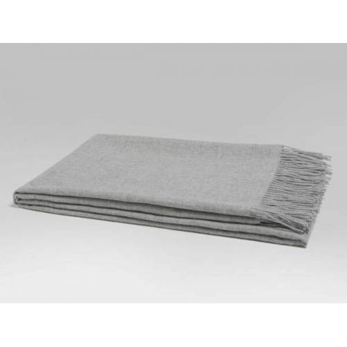 Yumeko Plaid Alpaka 130x190 fresh grey