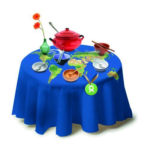 OxfamUnverpackt Gedeckter Tisch