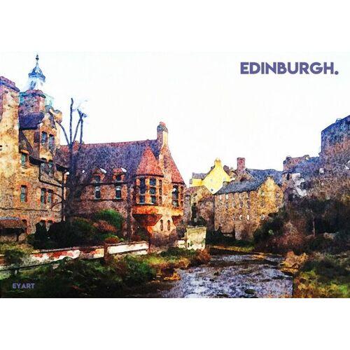 Eykaffee Edinburgh Bei Nacht  A2