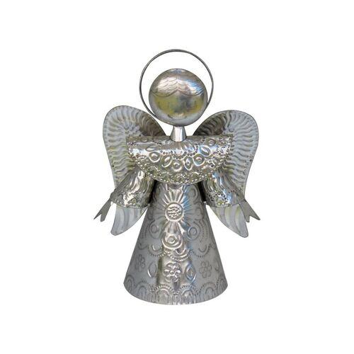 Mitienda Shop Engel Silber, Schutzengel silber L