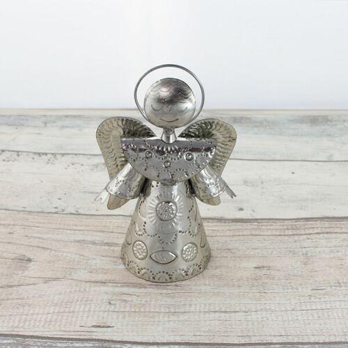 Mitienda Shop Engel Silber, Schutzengel silber M