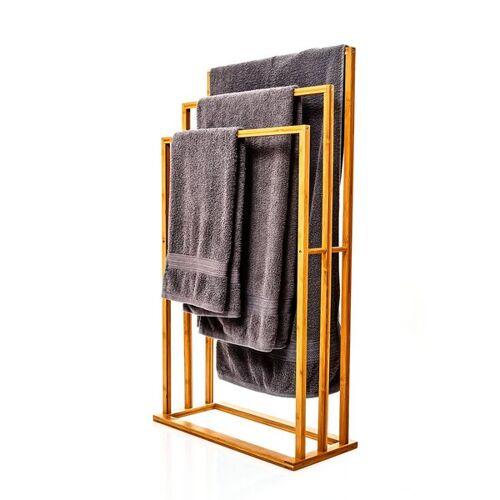Bambuswald Xl Handtuchhalter / Handtuchständer Aus 100% Bambus bambus