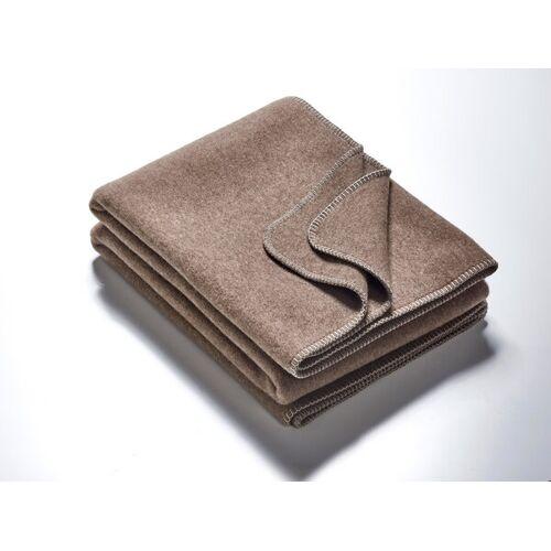 Kaipara - Merino Sportswear Die Decke - Merino-decke 155 Cm x 200 Cm (1600g) schlamm