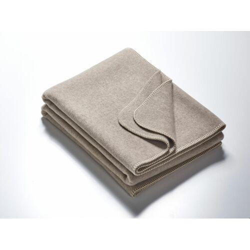 Kaipara - Merino Sportswear Die Große Decke - Merino-decke 155 Cm x 220 Cm (1800g) grau