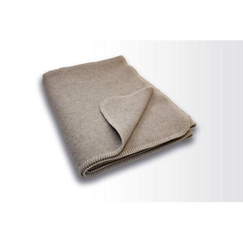 Kaipara - Merino Sportswear Die Halbe Decke - Merino-decke 100 Cm x 155 Cm (800g) grau