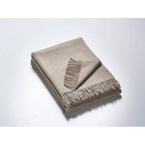 Kaipara - Merino Sportswear Das Plaid - Merino-decke 140 Cm x 190 Cm (850g) grau