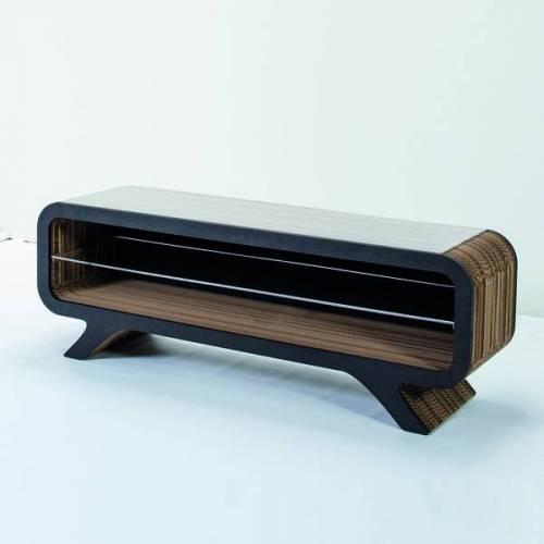 Keller Medien Lowboard Gelpe schwarz 155 cm breite