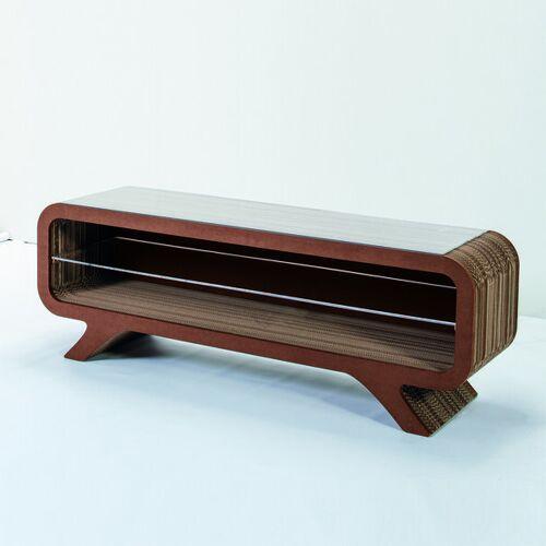 Keller Medien Lowboard Gelpe braun 155 cm breite