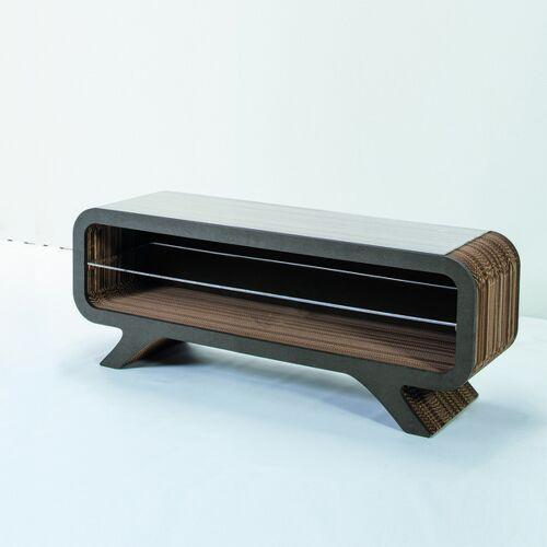 Keller Medien Lowboard Gelpe grau 120 cm breite