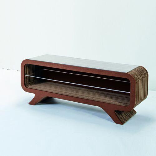 Keller Medien Lowboard Gelpe braun 120 cm breite