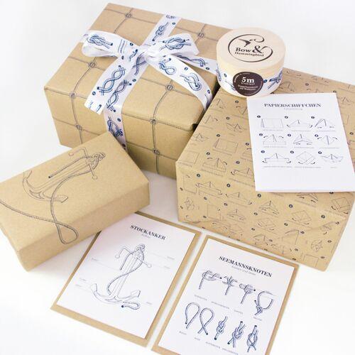 Bow & Hummingbird Maritimes Geschenkverpackungs-set Ii