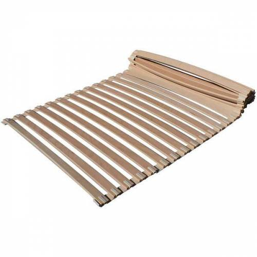 Japanwelt Rollrost Mit Federholzleisten  80x210