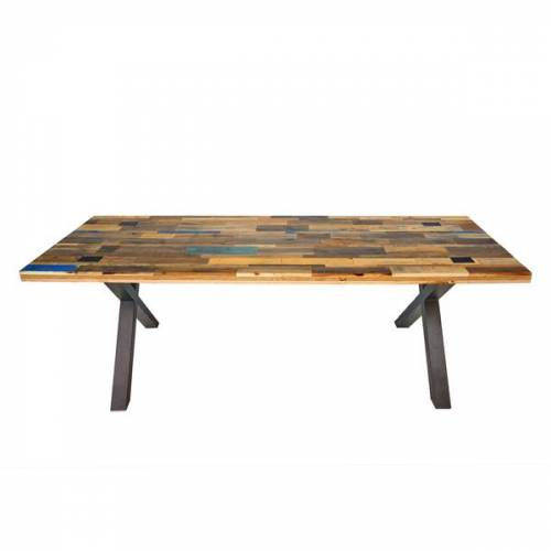 Tolhuijs Design Tisch Able Palletten Holz Upcycling  200x90
