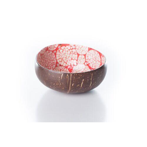 Bea Mely Perlmutt-ei-kokosnuss-schale rot