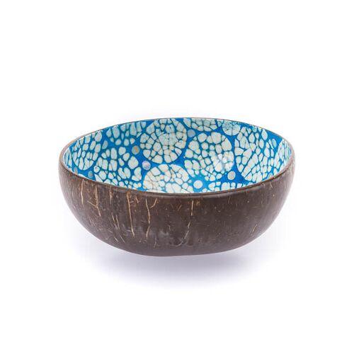 Bea Mely Perlmutt-ei-kokosnuss-schale blau